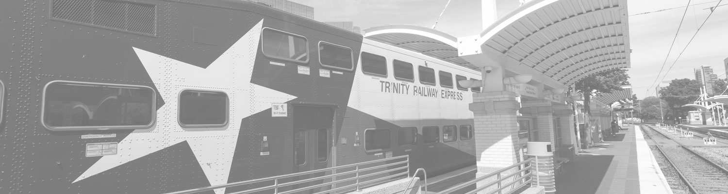 Trinity Rail Express | Inroads Realty | Retail Real Estate | Dallas